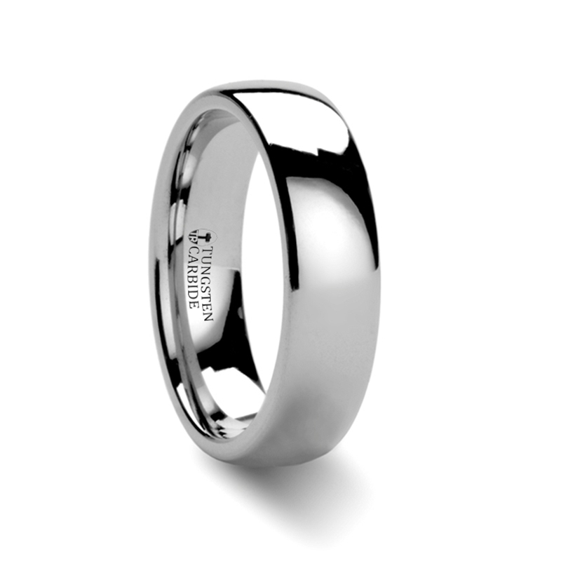 DOMINUS-Domed Tungsten Carbide Ring – 2 – 12 mm
