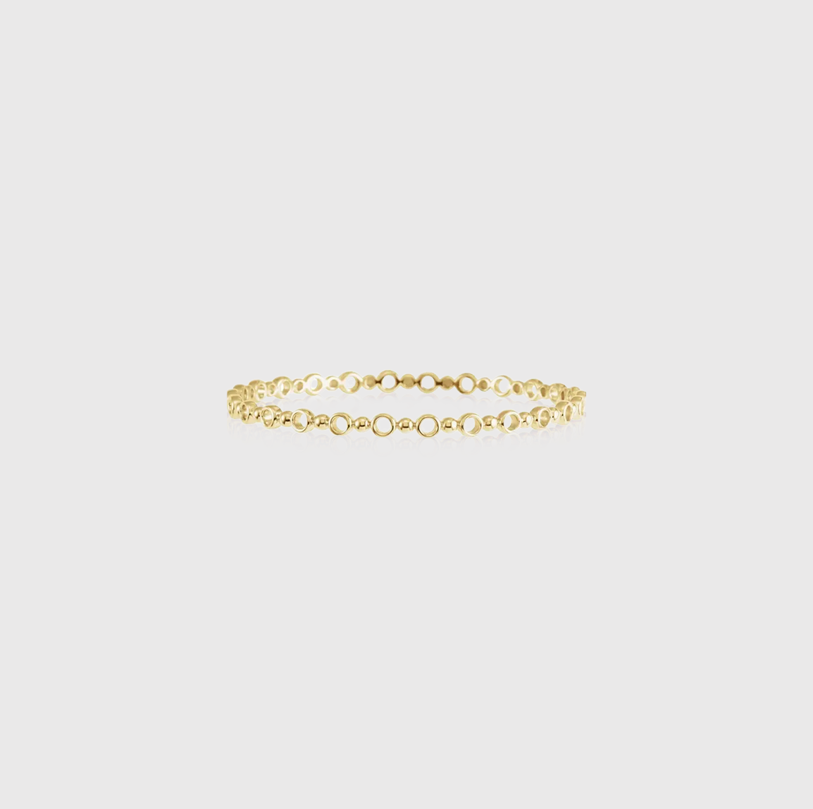 Stack It Up Circles Narrow Stackable Bangle