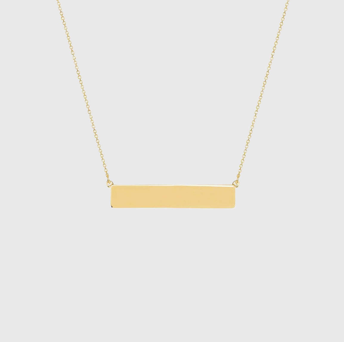 Classic Bar 19.5″ Necklace